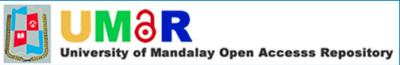 University of Mandalay Open Access Repository