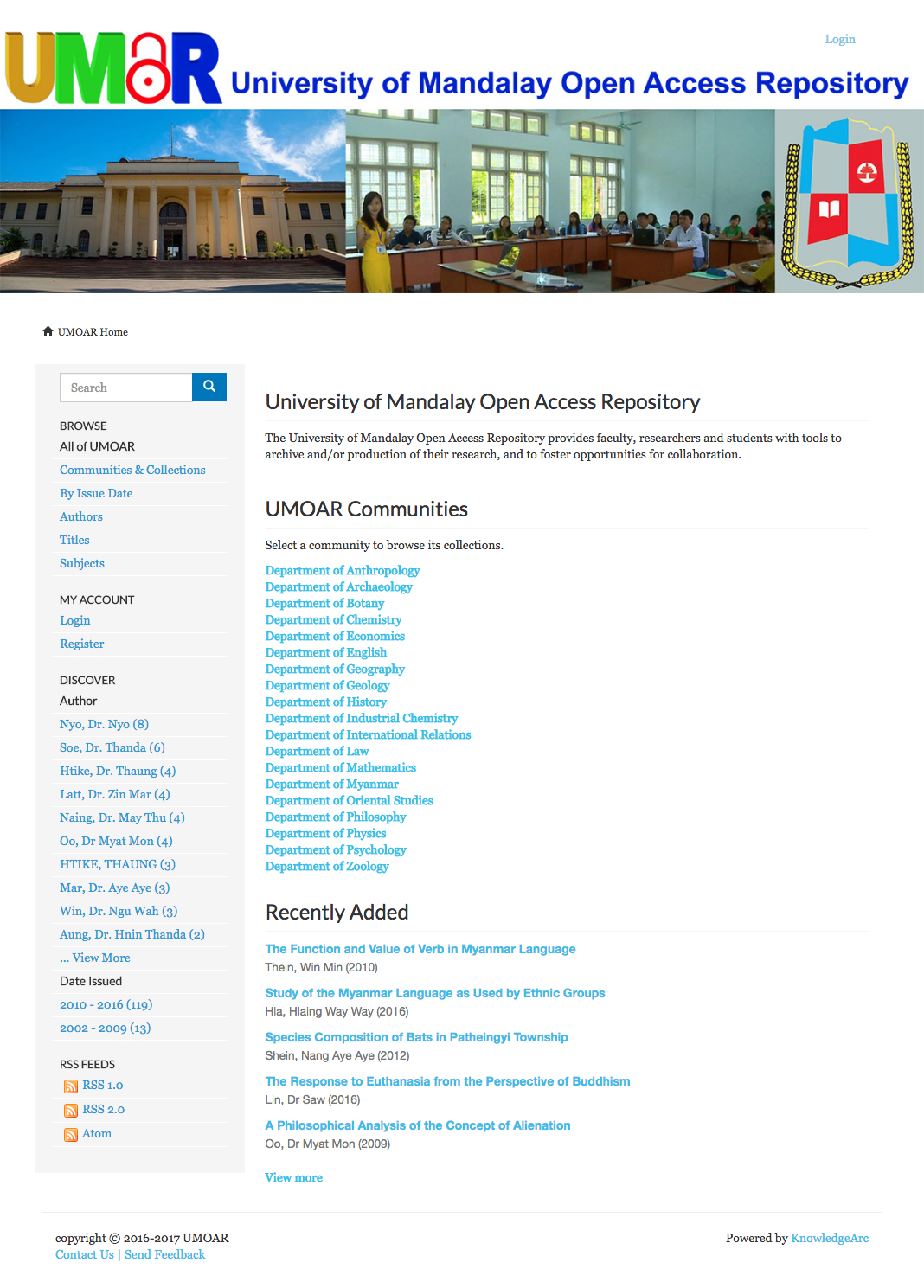 University of Mandalay Open Access Repository